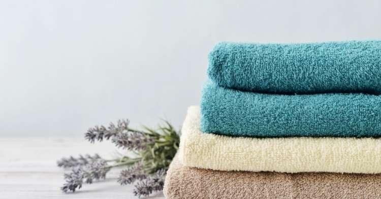 Beautifully folded towels